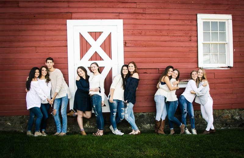 High School Seniors - group