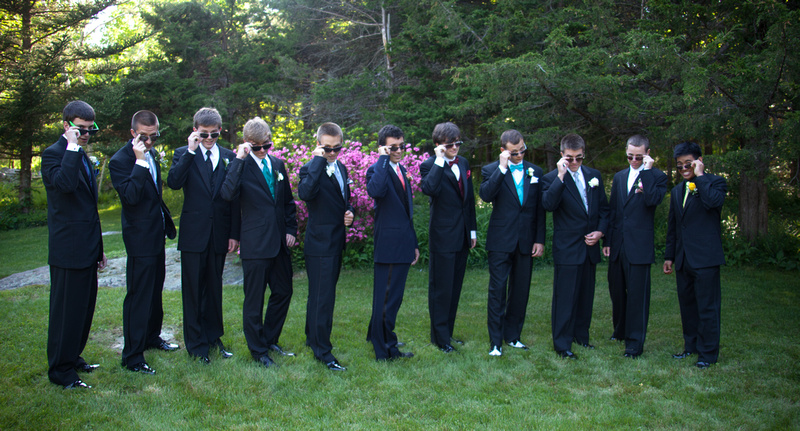 Prom boys props